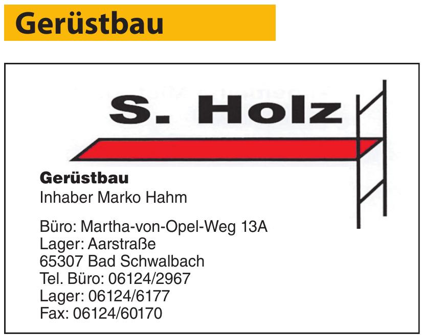 S. Holz Gerüstbau