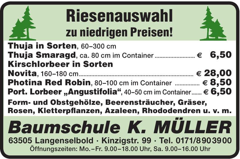 Baumschule K. Müller