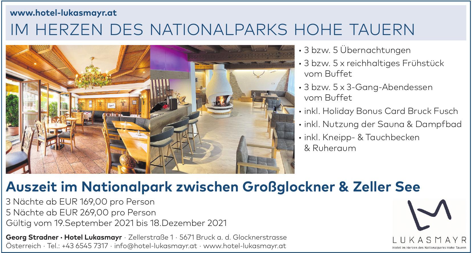 Georg Stradner - Hotel Lukasmayr