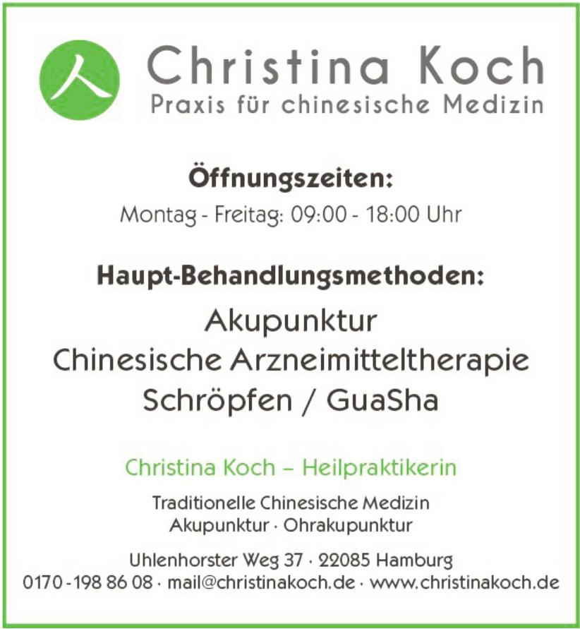 Christina Manke, Praxis für chinesische Medizin
