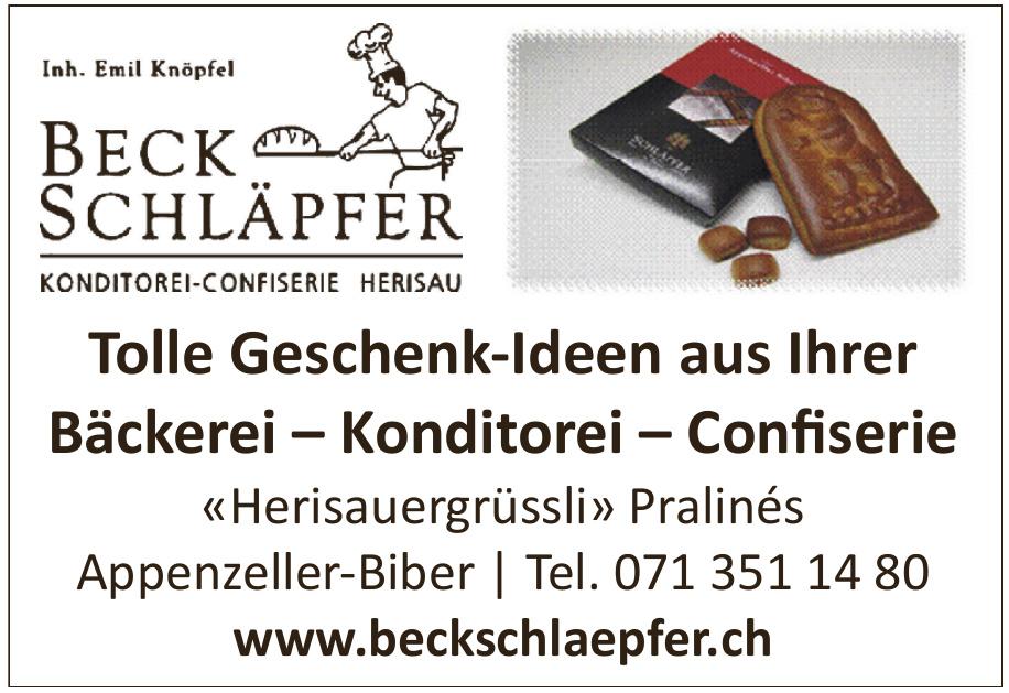 Beck Schläpfer