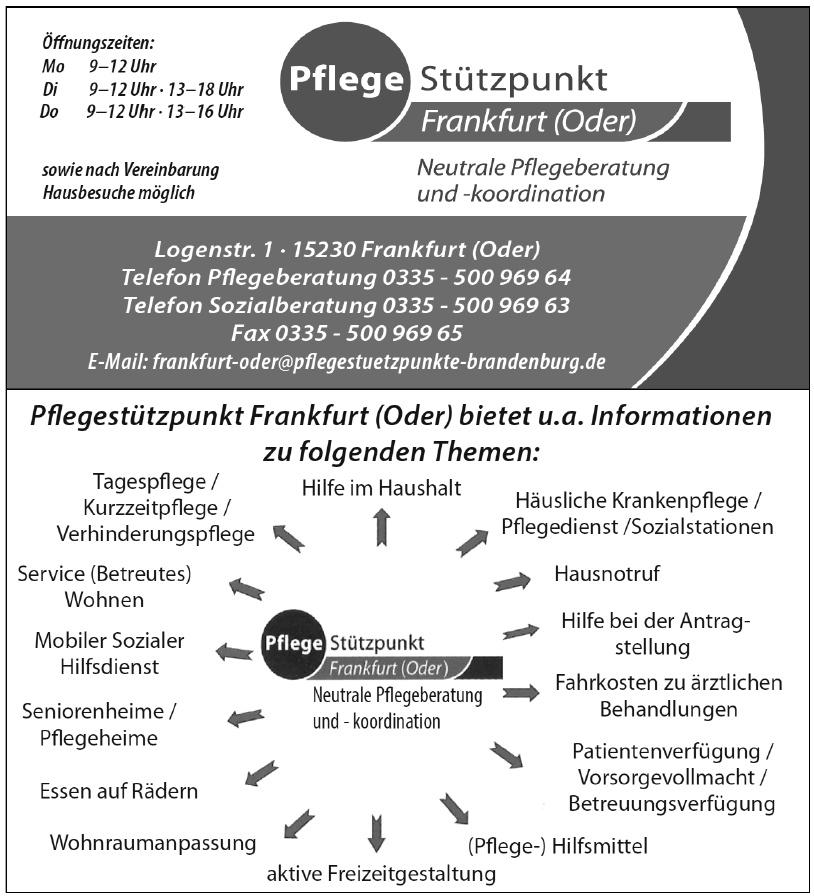 Pflege Stützpunkt Frankfurt (Oder)