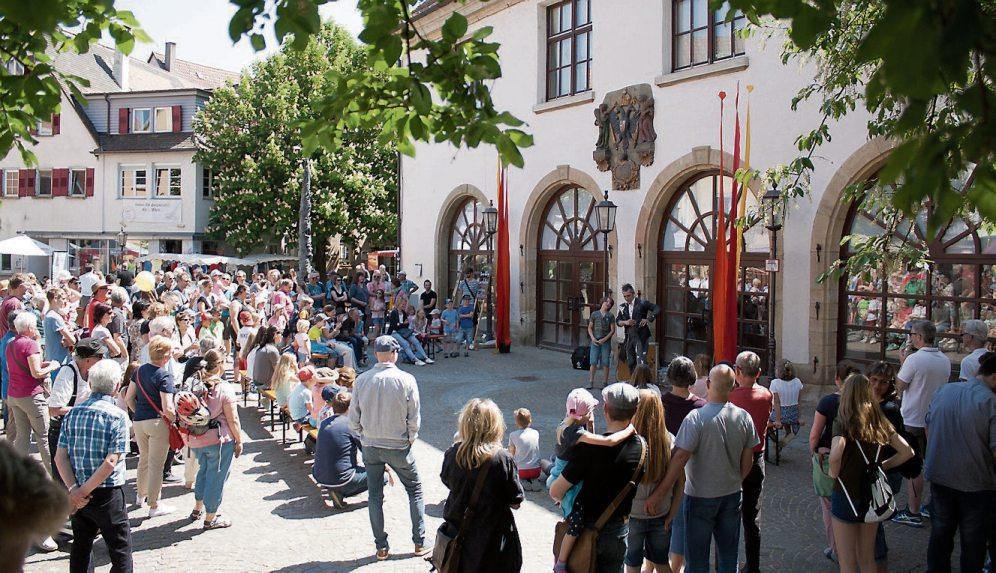 Das hgv-Gauklerfest verzaubert durch seine einzigartige Atmosphäre. Bilder: hgv Rottenburg
