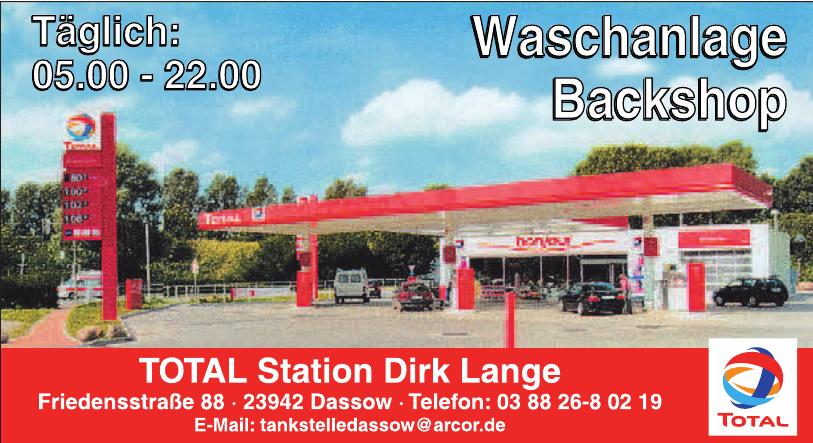 Total Station Dirk Lange