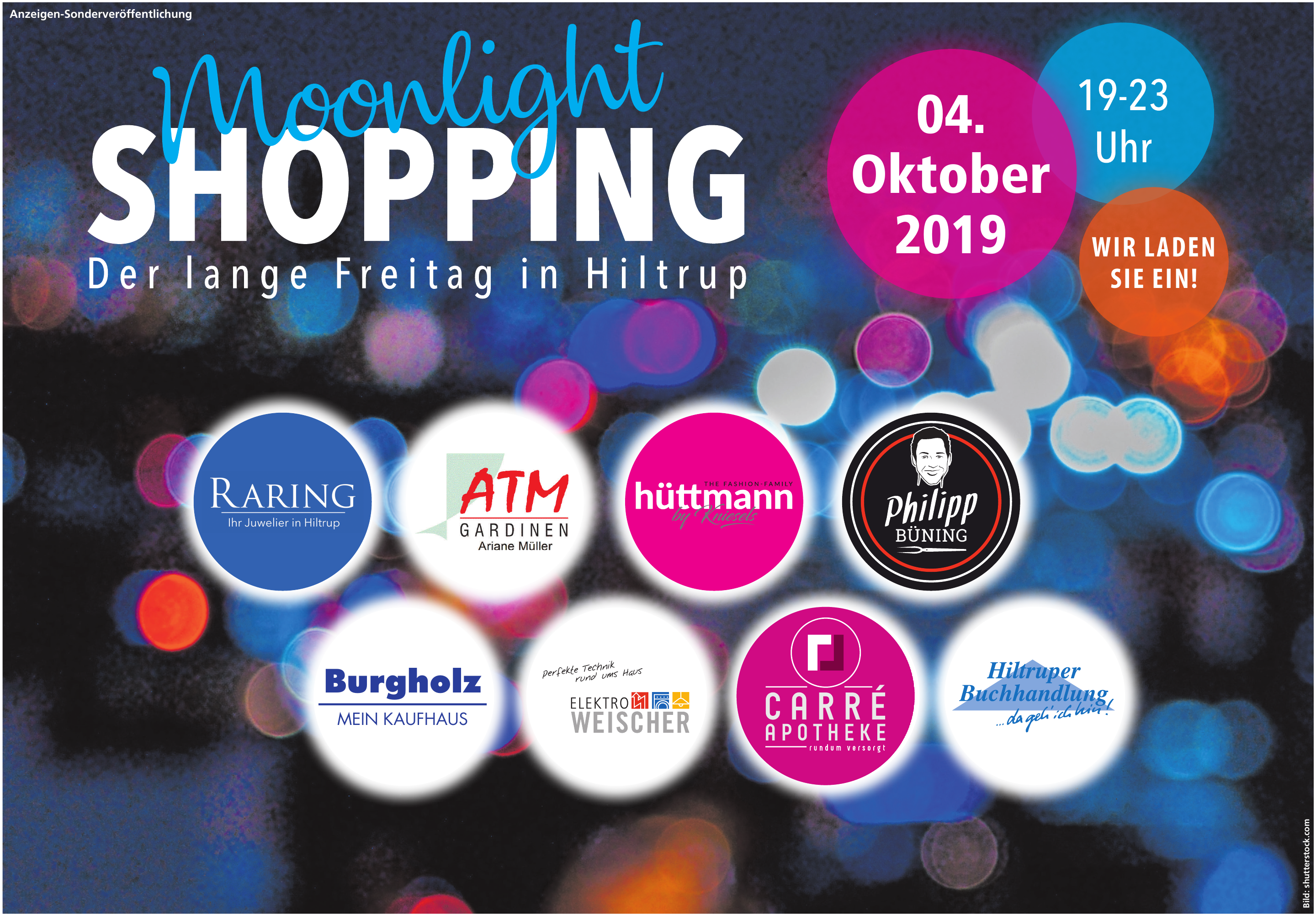 Moonlightshopping in Hiltrup
