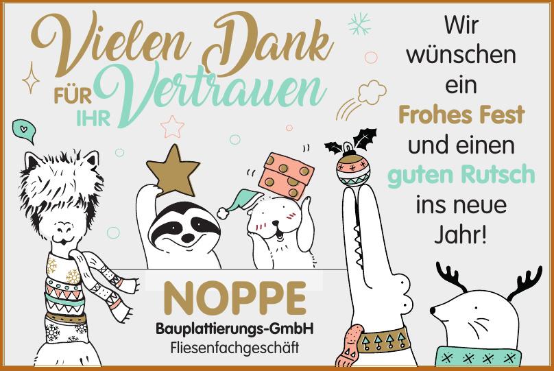 NOPPE Bauplattierungs-GmbH Fliesenfachgeschäft