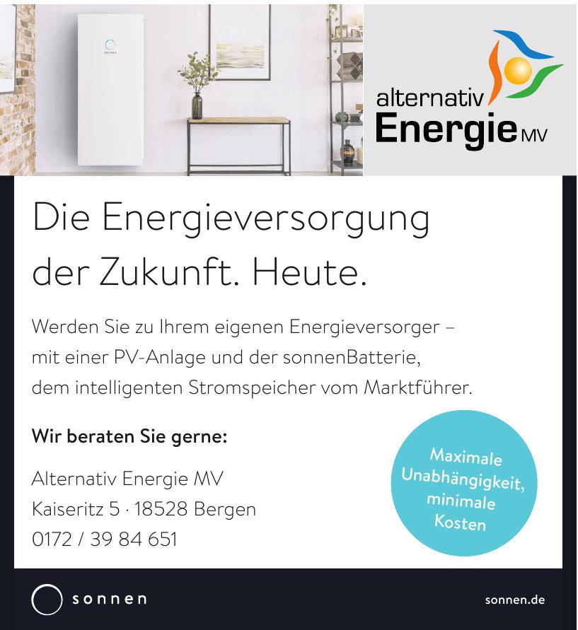 Alternativ Energie MV