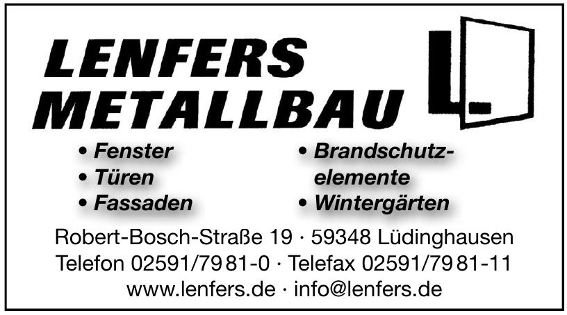 Lenfers Metallbau