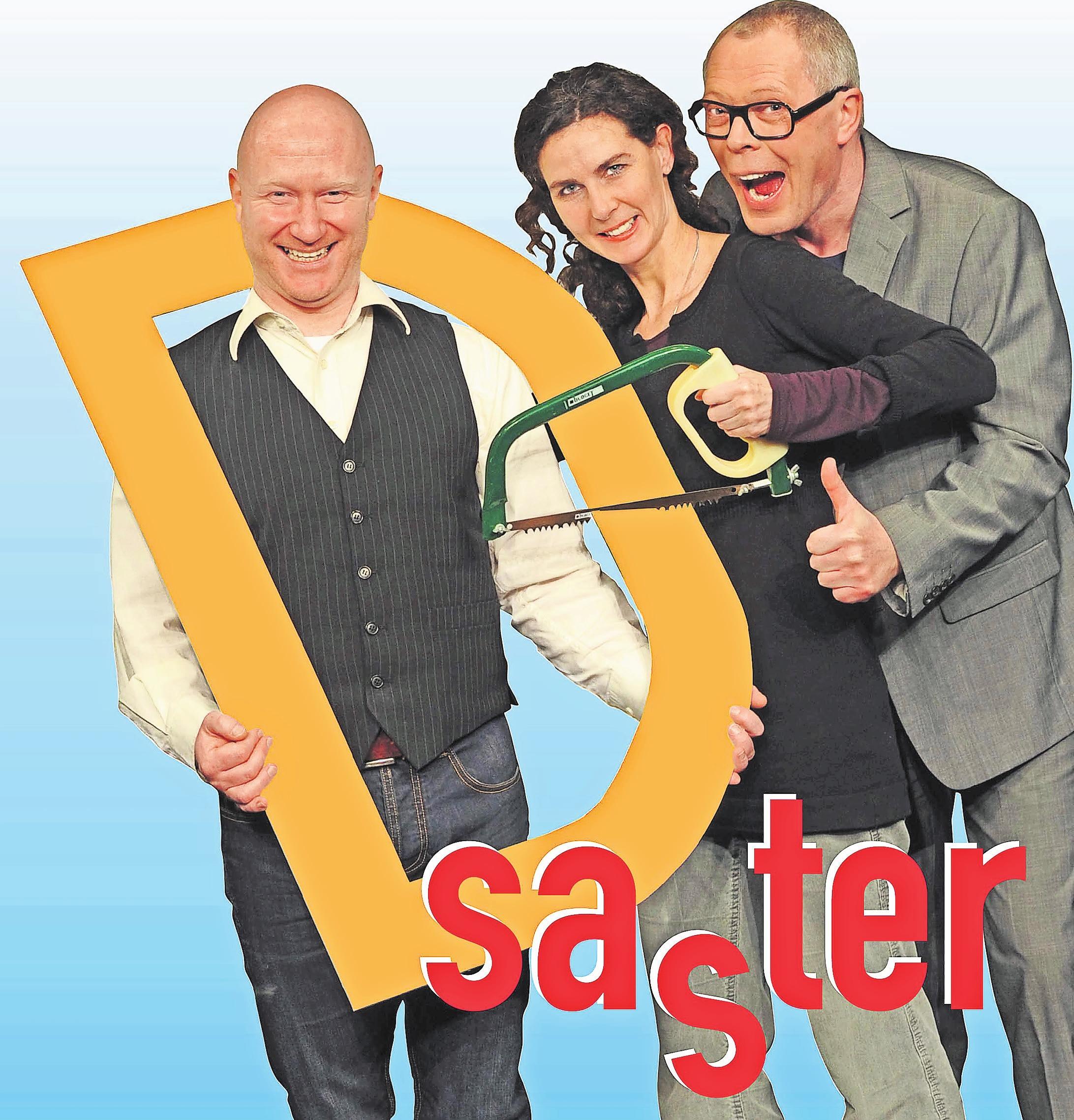 """""""D saster"""" v.l.n.r. in der Besetzung mit Matthias Avemarg, Gislén Engelmann, Frank Sieckel Foto: M. Scholz"""