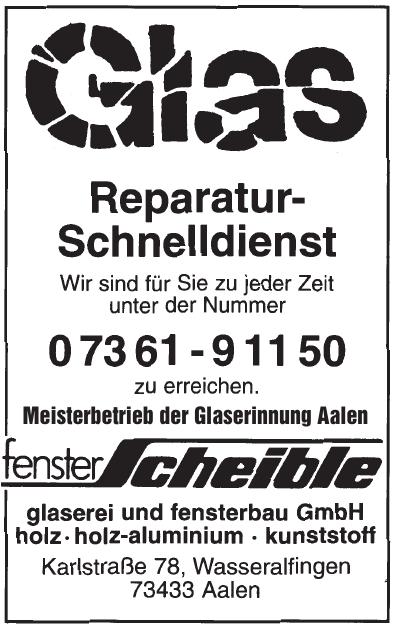 Fenster Scheible GmbH