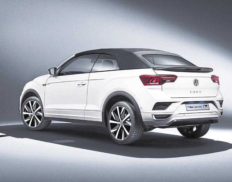 Alles dicht: Auch geschlossen macht das neue VW-Modell eine gute Figur.