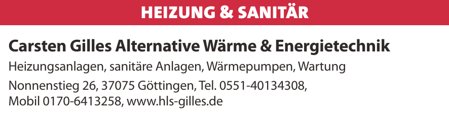 Carsten Gilles Alternative Wärme & Energietechnik