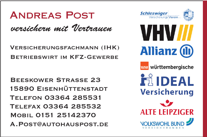 Autohaus Andreas Post
