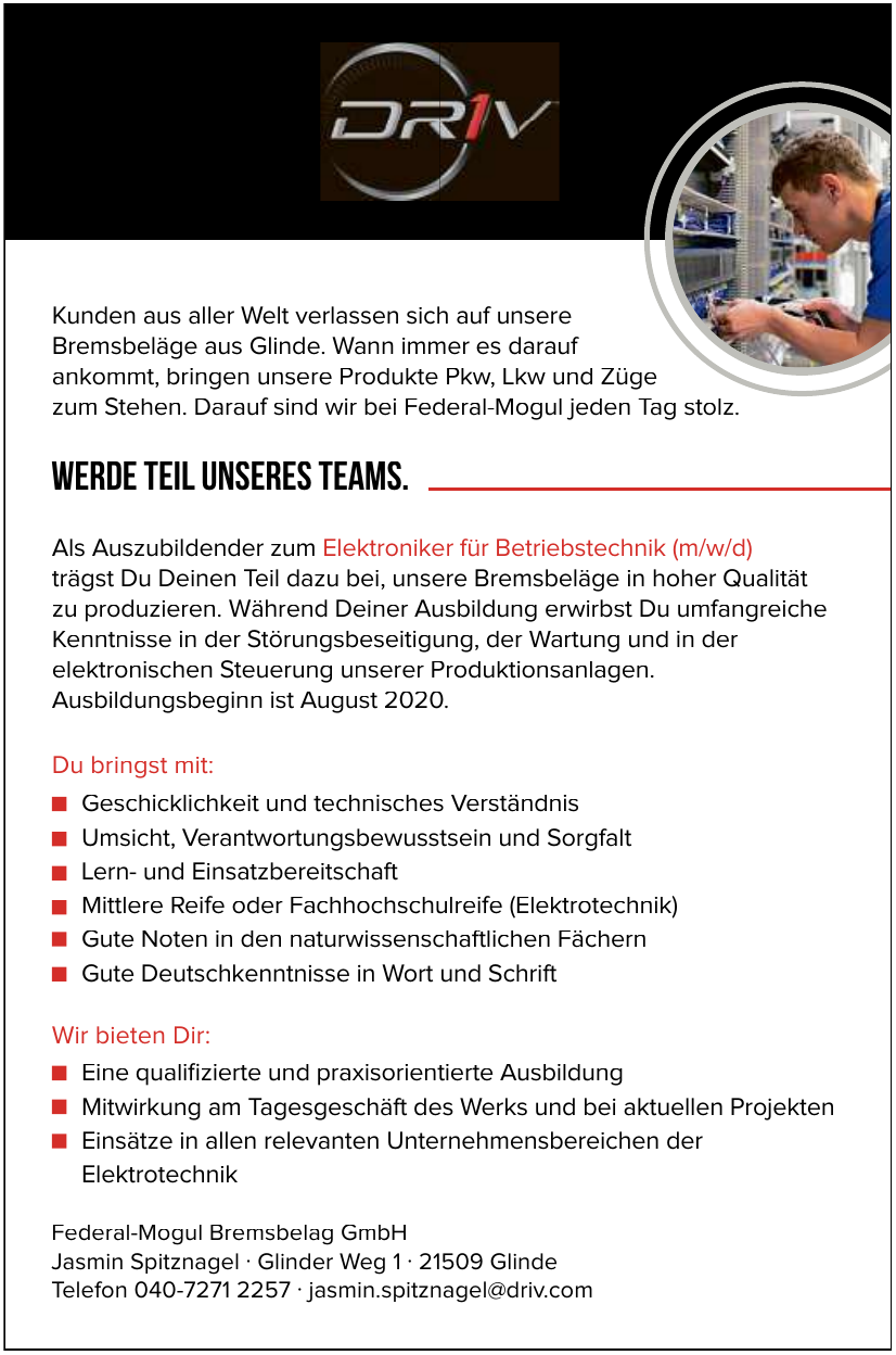 Federal-Mogul Bremsbelag GmbH