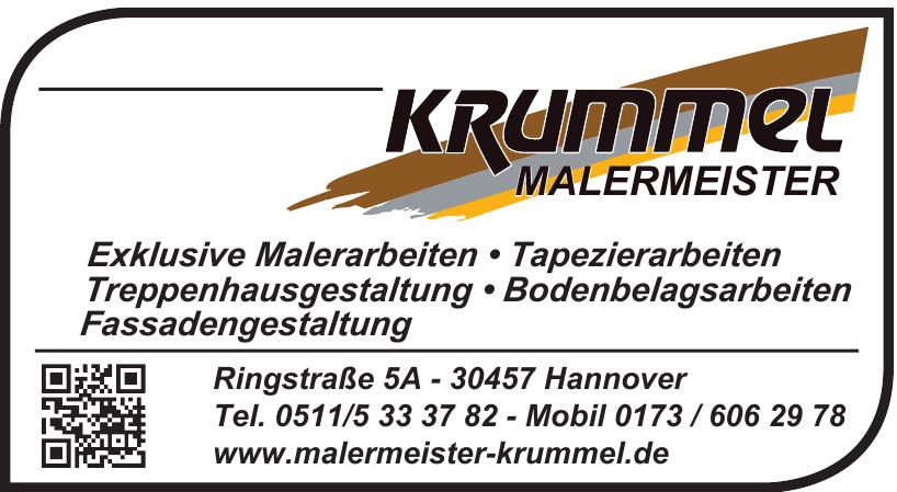Malermeister Krummel