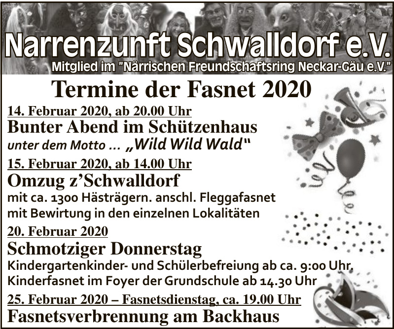 Narrenzunft Schwalldorf e.V.