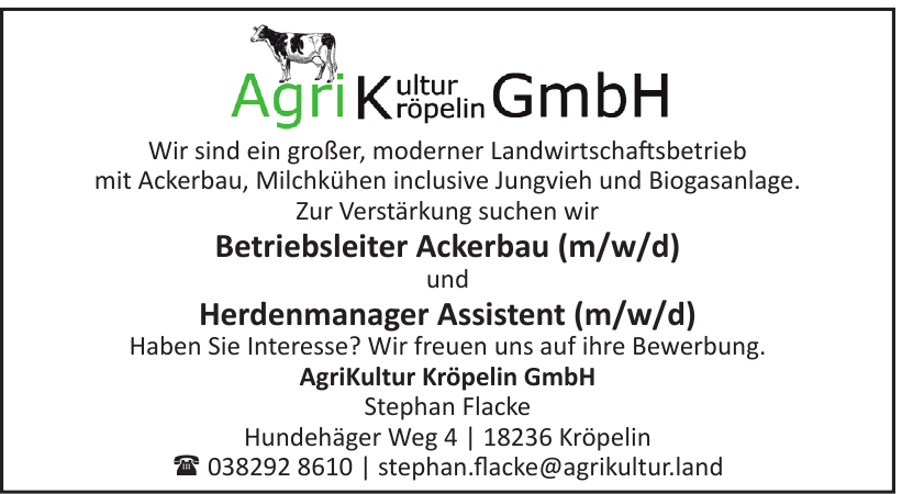 AgriKultur Kröpelin GmbH