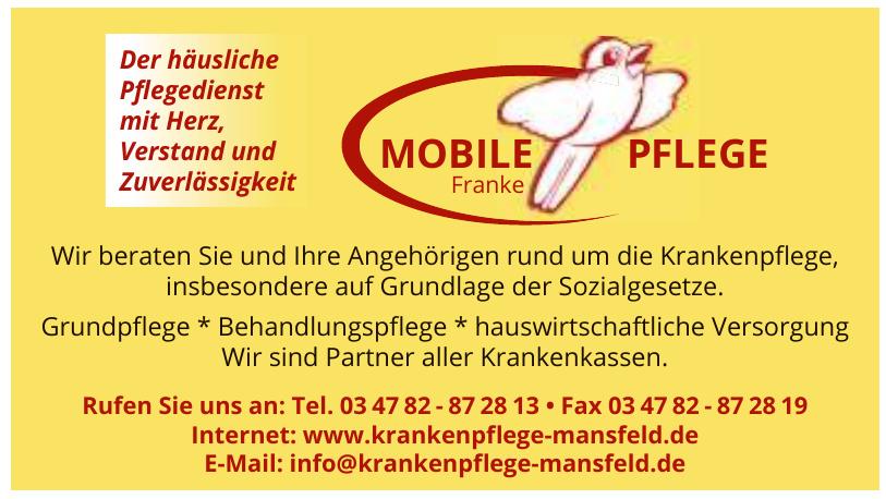 Mobile Pflege Franke
