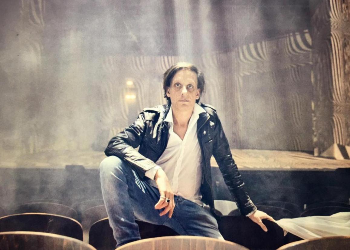 Kay Voges, Intendant des Schauspiels Dortmund, spricht auf dem BrandEx-Festival 2020FOTO: MARCEL URLAUB