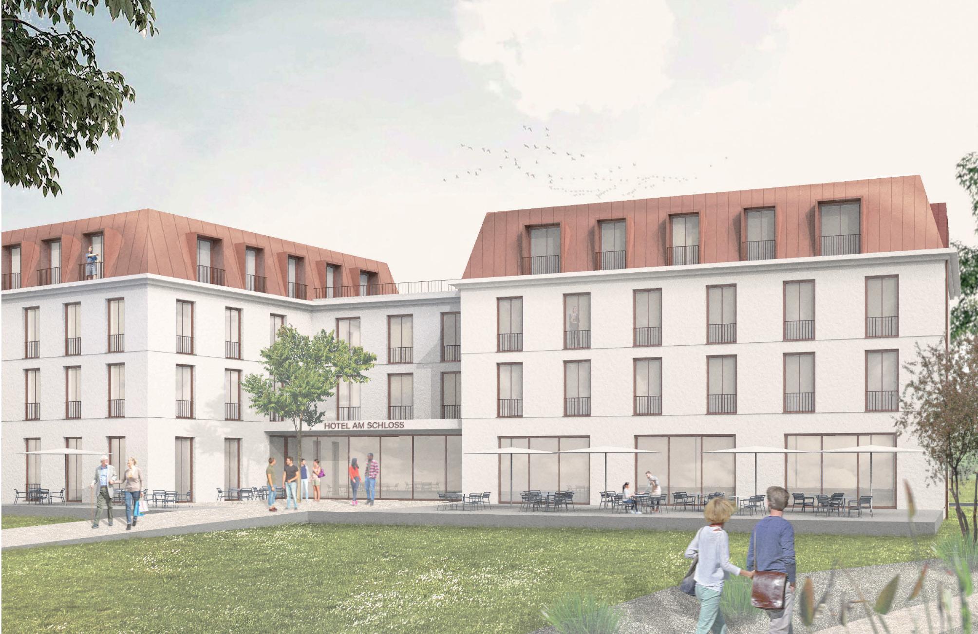 So soll das neue Hotel in Sigmaringen aussehen.