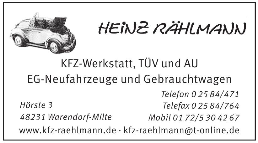 Heinz Rählmann