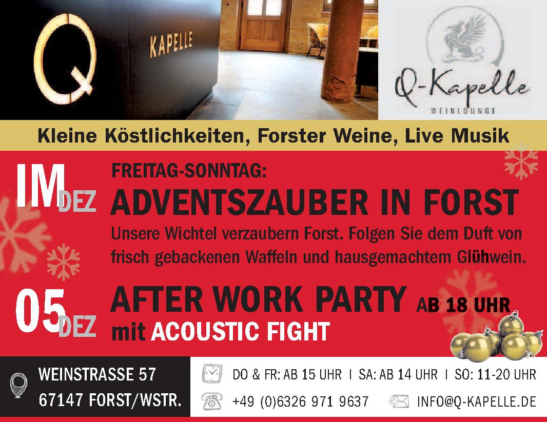 Q-Kapelle Weinlounge