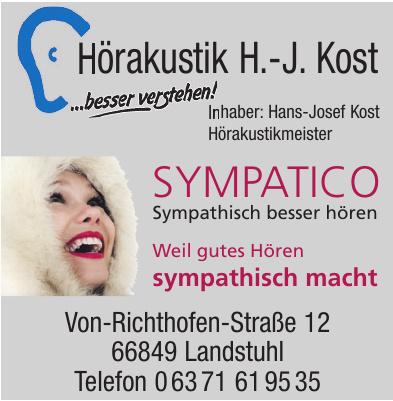 Hörakustik H.-J. Kost e.k.
