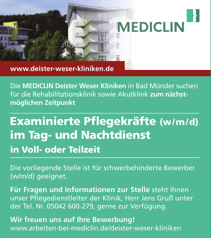 MEDICLIN Deister Weser Kliniken