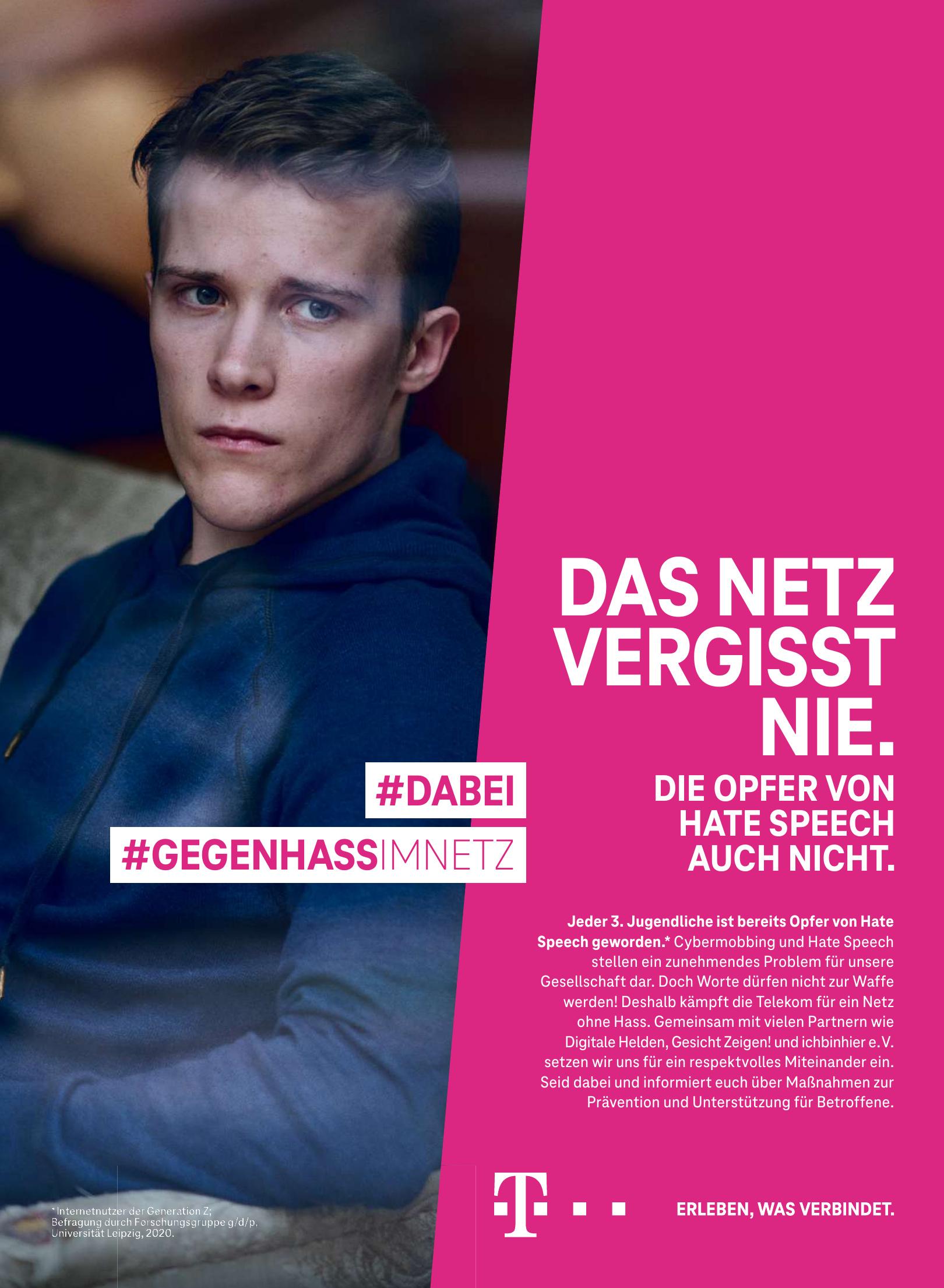 Telekom #GEGENHASSIMNETZ