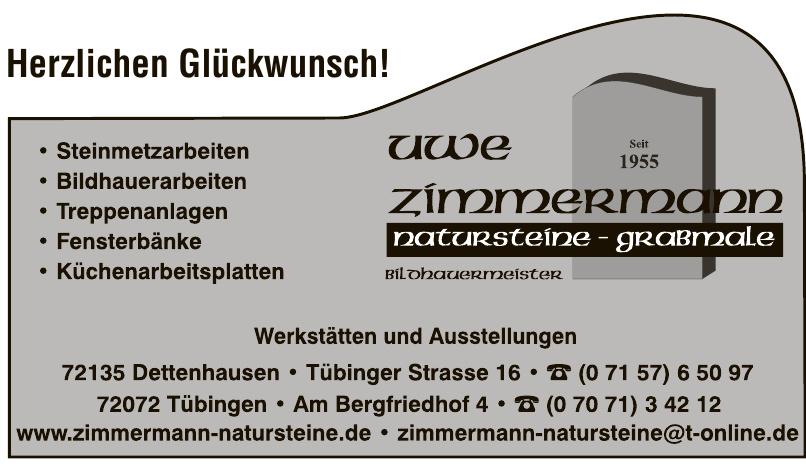 Uwe Zimmermann - Grabemale