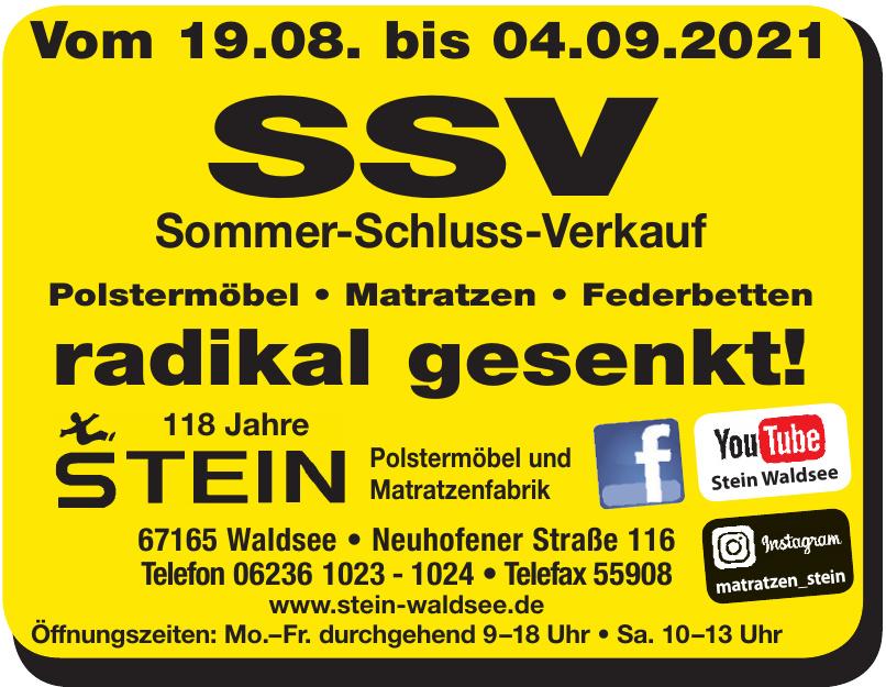Stein Polstermöbel und Matratzenfabrik