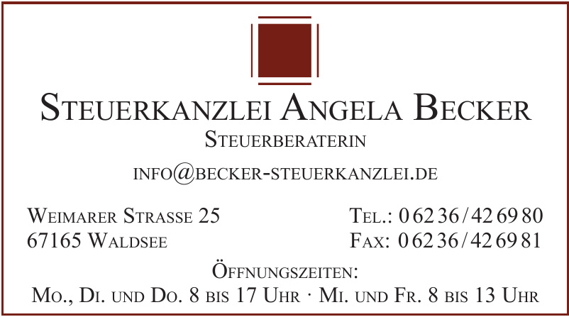Steuerkanzlei Angela Becker