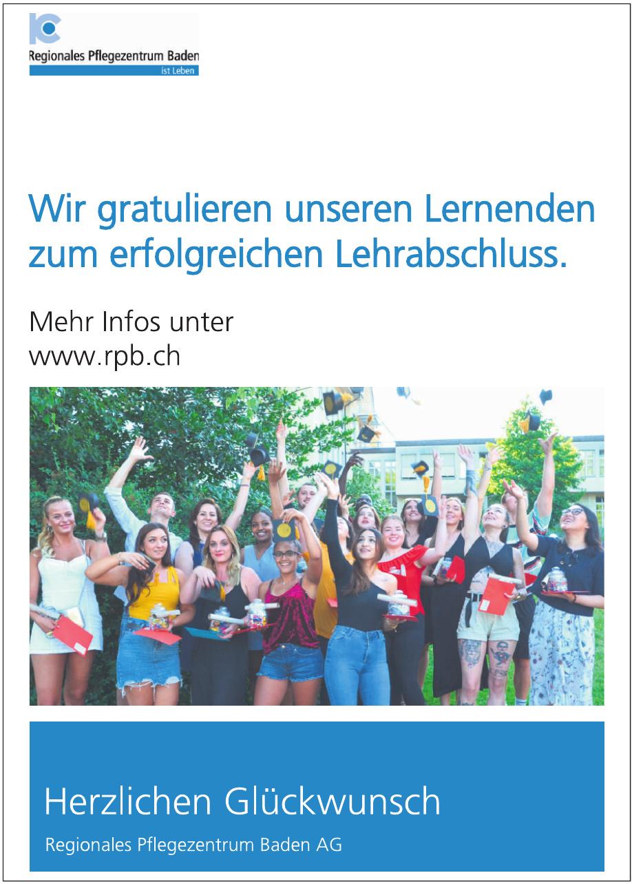 Regionales Pflegezentrum Baden AG