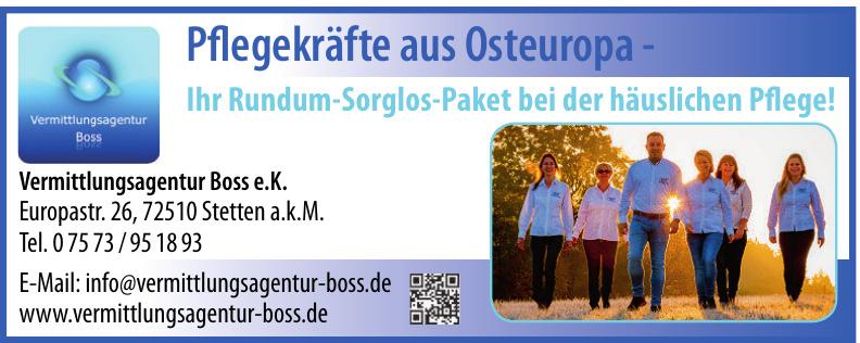 Vermittlungsagentur Boss e.K.