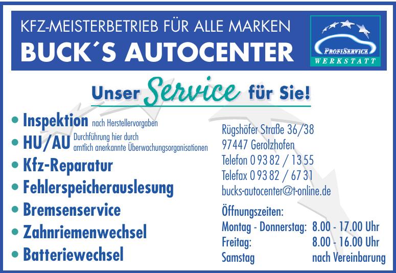 Buck´s Autoservice