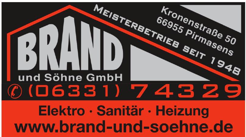 Brand und Söhne GmbH