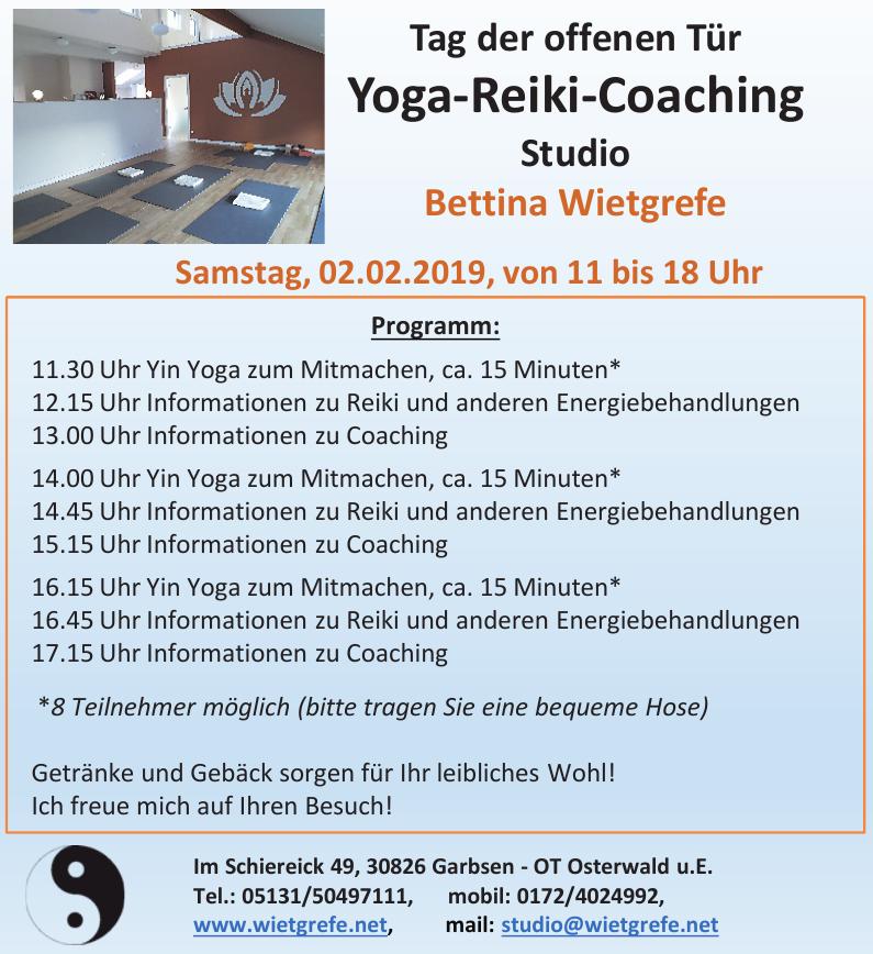 Bettina Wietgrefe Yoga-Reiki-Coaching