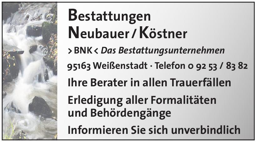 Bestattungen Neubauer/Köstner