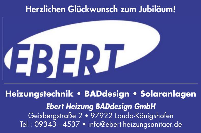 Ebert Heizung BADdesign GmbH
