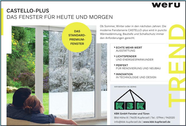 KBK GmbH Fenster und Türen