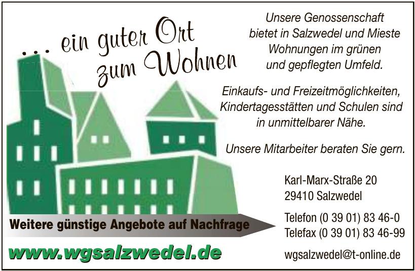 "WG ""Stadt Salzwedel"" eG"