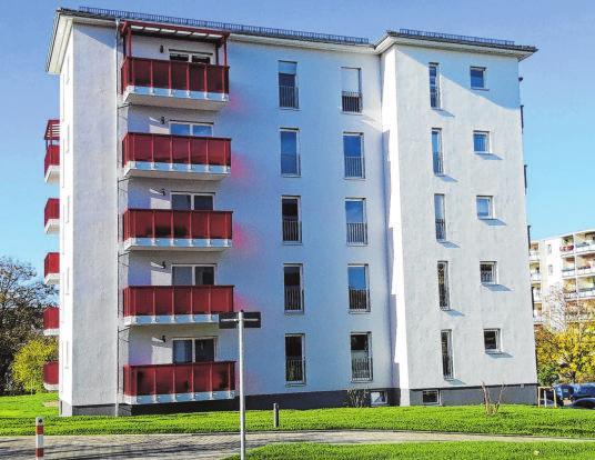 Neubau: Im Stakerweg wurden 2018 zwei barrierearme Wohnblöcke gebaut. Für Interessenten gibt es eine Warteliste.