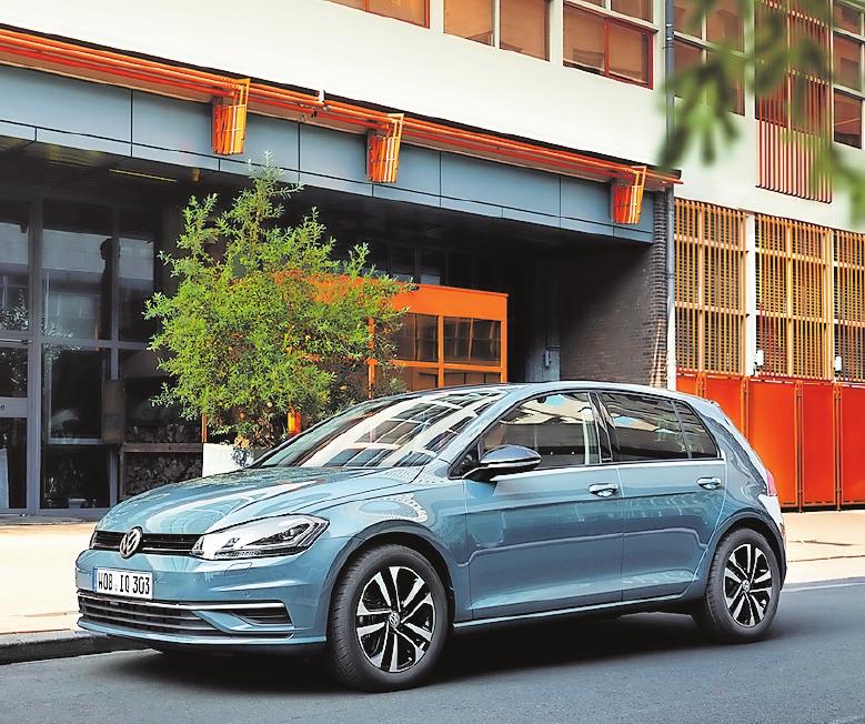 Bietet Geruchsneutralisierung nicht nur für VWs wie etwa den Golf IQ an: das Autohaus Henzel.FOTO: VOLKSWAGEN AG/FREI