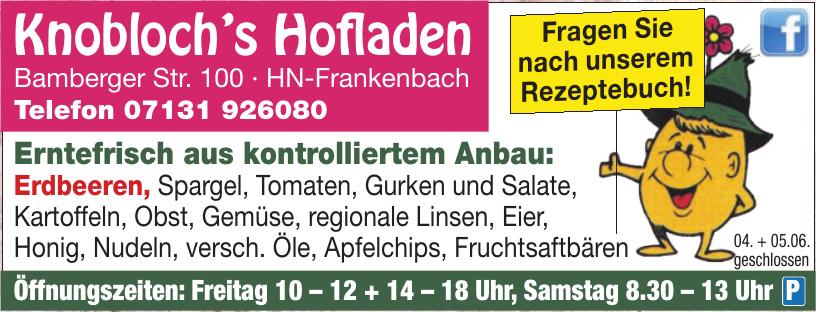 Knobloch's Hofladen
