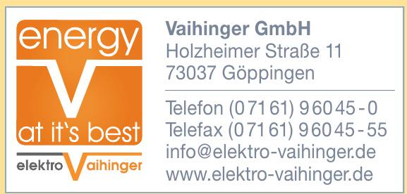 Elektro Vaihinger GmbH