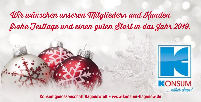 Konsumgenossenschaft Hagenow eG