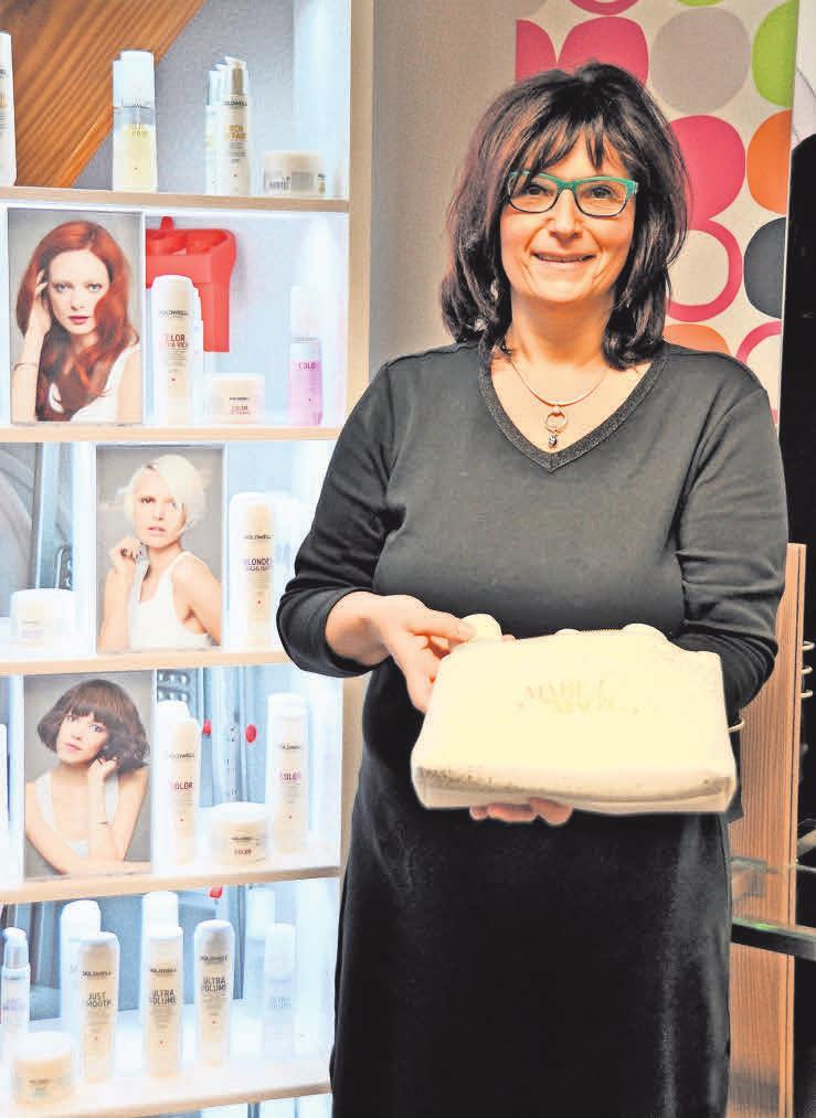 Nicole Beier lässt sich nicht unterkriegen. Aktuell macht sie ein Fernstudium zur Farbund Stilberaterin. Foto: Archiv