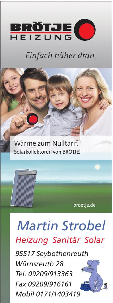 Martin Strobel Heizung Sanitär Solar