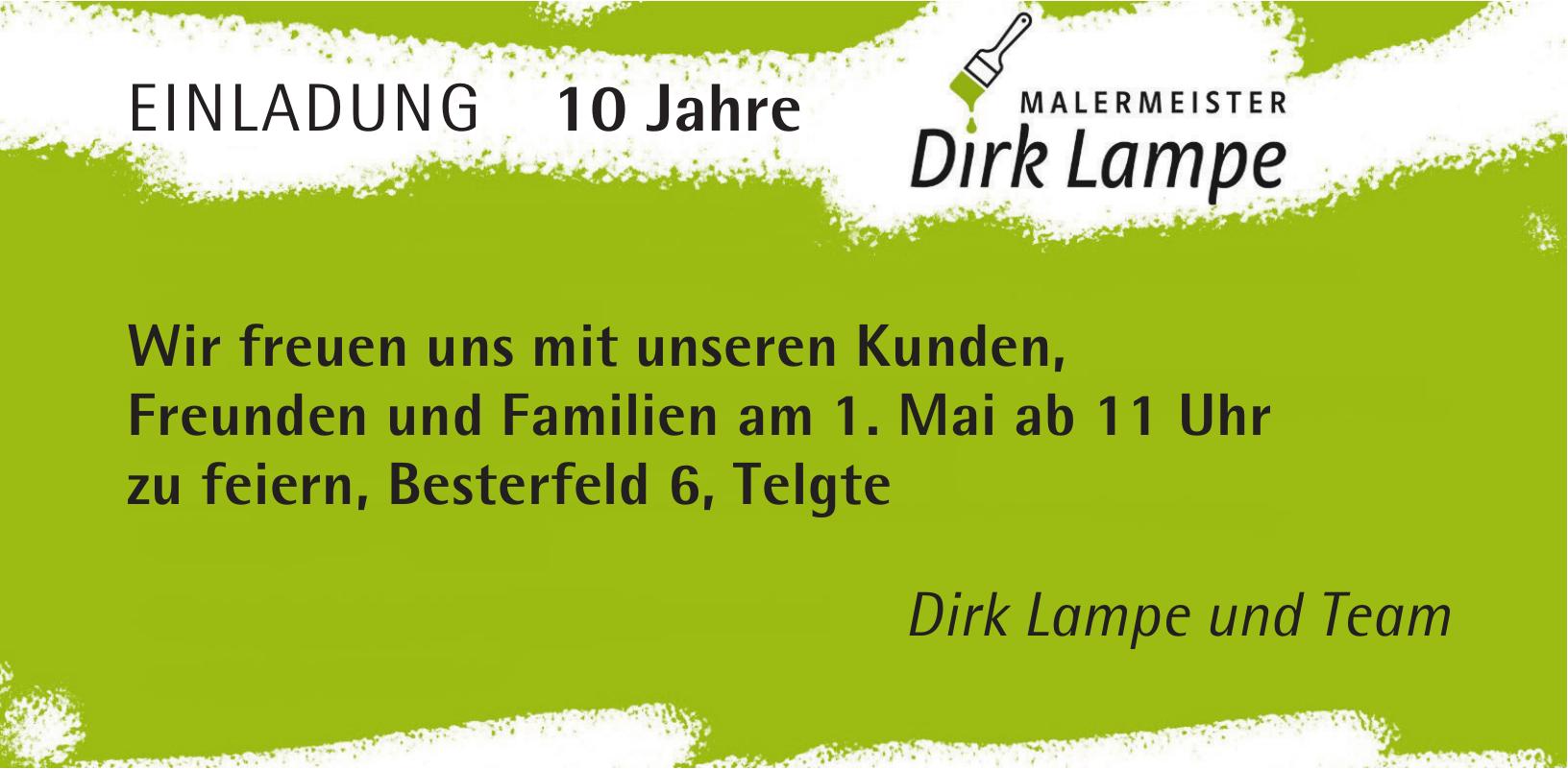 Dirk Lampe Malermeister