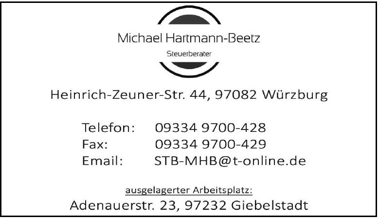 Michael Hartmann-Beetz-Steuerberater
